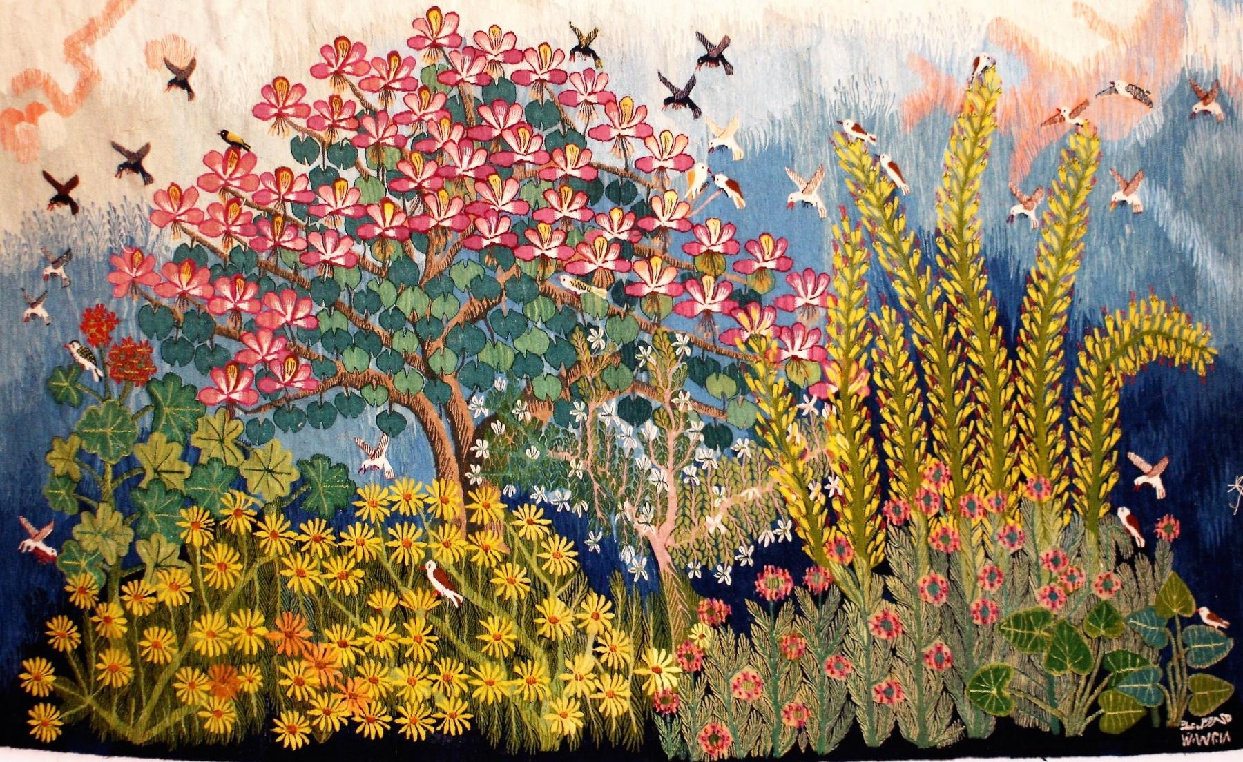 2-Bauhinia-in-the-garden-2018-178-2.04-x-1.23-m-Mahrous-Abdou