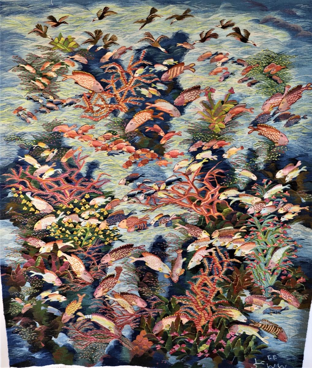 26-Corals-Fish-2020-593-1.60-x-1.88-m-Ali-Seliem