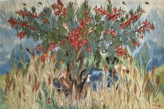 23-Wheat-Flamboyant-tree-2019-119-2.05-x-1.35-m-Reda-Ahmed-1-Copy