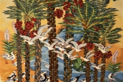 3-Palms-birds-2020-1.31-x-2.00-m-Reda-Ahmed
